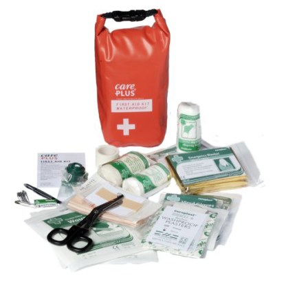 CarePlus First Aid Waterproof Kit (contents)