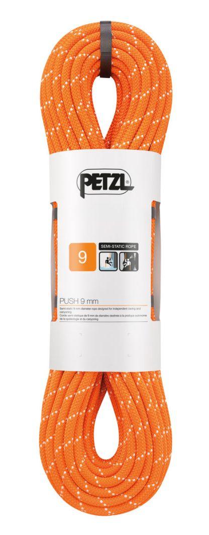 Petzl PUSH 9mm Orange