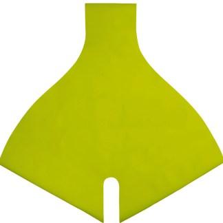 Edelrid zitvlakbescherming (Abtiebschutz) voor Irupu (limoengroen)