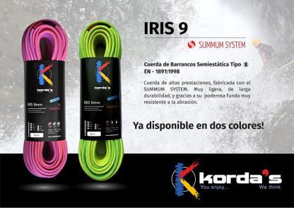 Kordas IRIS 9mm - Rosa - Grün