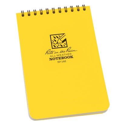R558101 Rite in the Rain All-Weather Notebook (Medium), 15,5 x 10,5 cm, 93 g