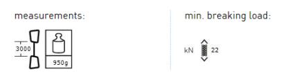 AustriAlpin CORE.DY Rap Line 30m