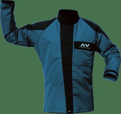 AV Schutzjacke TAKA (AVCA38) Vorne, blau