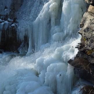 Winter Canyoning