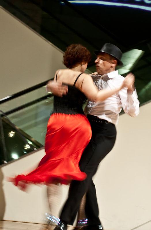 Dancers Katherine & Andrew Thielmann Dance The Tango