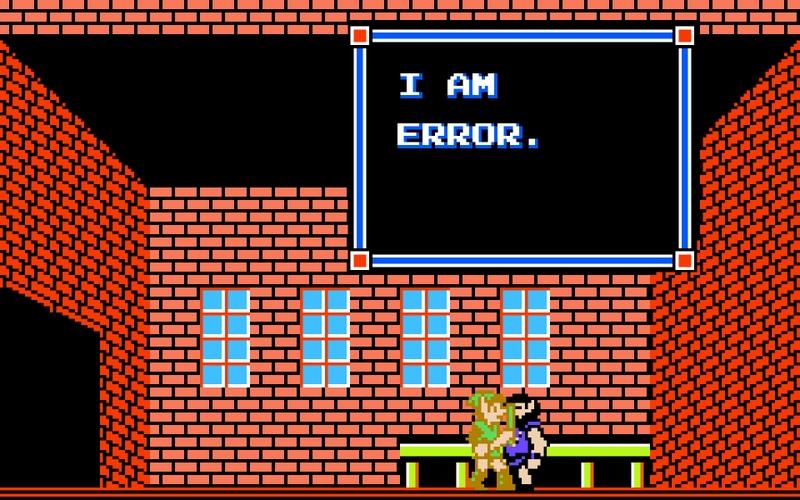 You are also error.