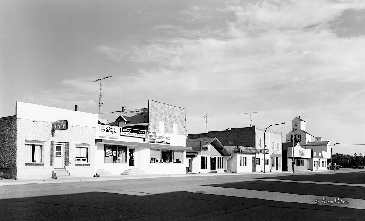 Dick's Cafe, Redvers Saskatchewan 1987