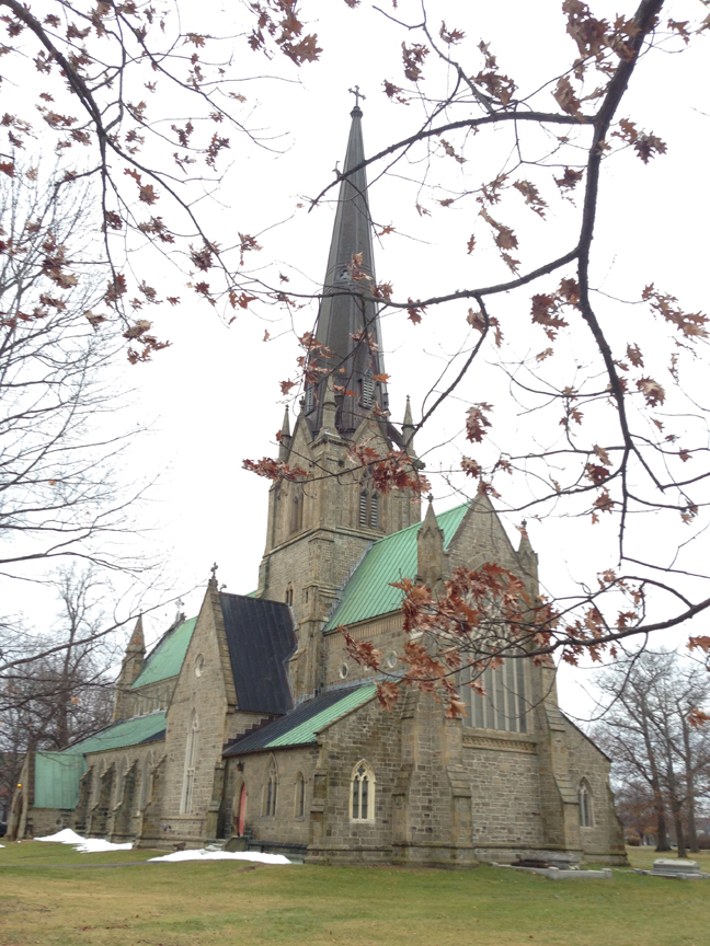 Butterfield Christ Church Fredericton NB 1853 2