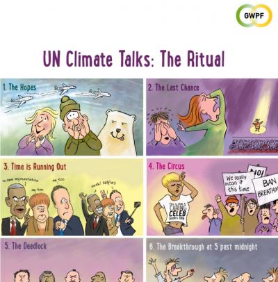 UN Climate Talks Ritual Cartoon
