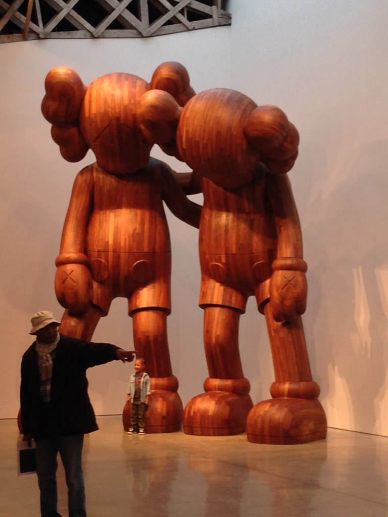 KAWS NYC 2013 Couple figure