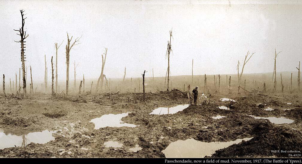 passchendale1917 Shell Holes devastation