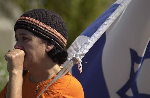 Israeli woman in tears(Israel Defense Forces, Creative Commons)