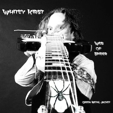 Whitey Kirst Web of Spider - Green Metal Jacket Album Cover