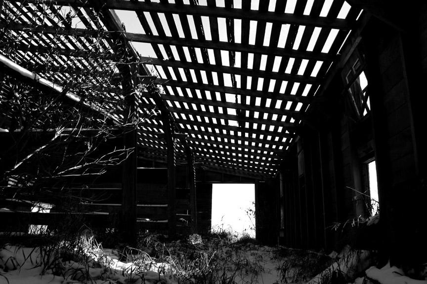 Old Acadia School N. of Trochu Bob Agar Photographer 2015