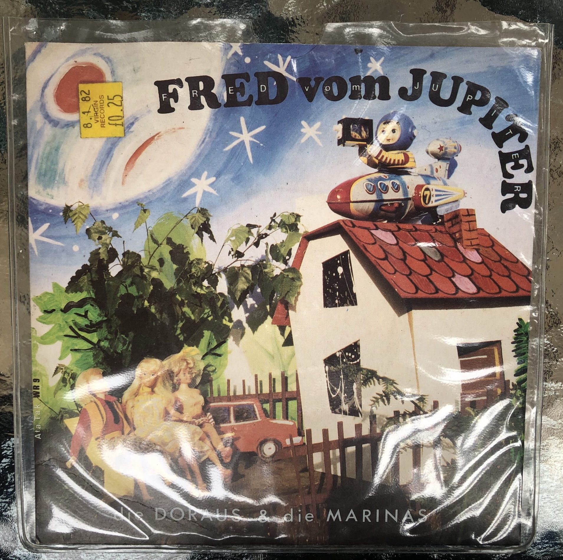 Fred From Jupiter Front Cover