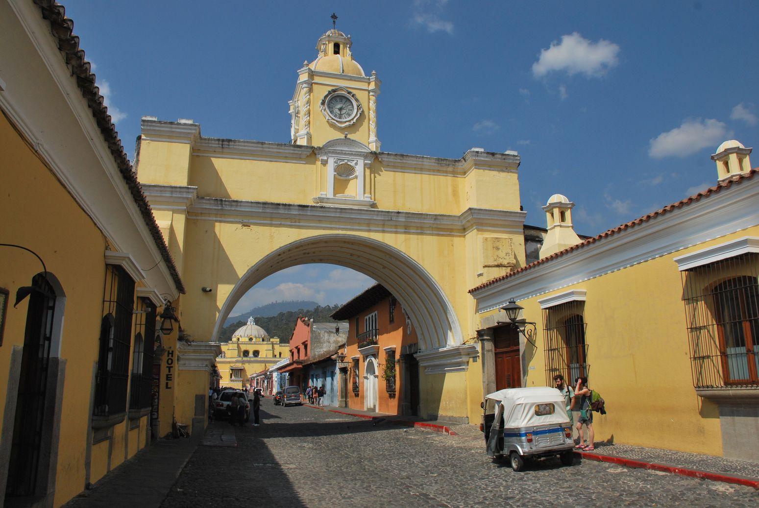 Antigua Guatemala arche
