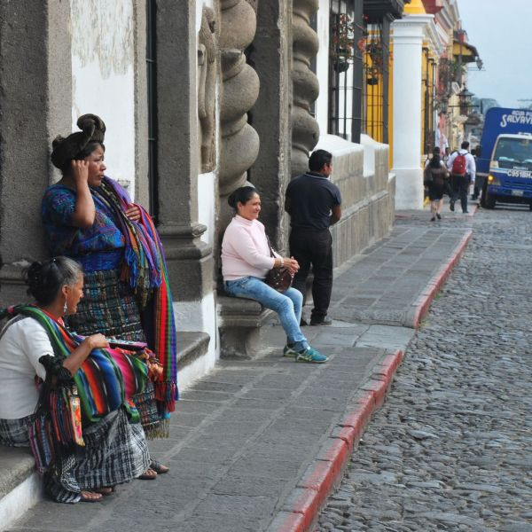 Antigua Guatemala calle