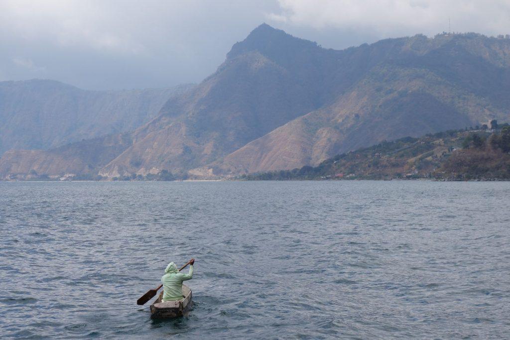 Lago Atitlan Pescador