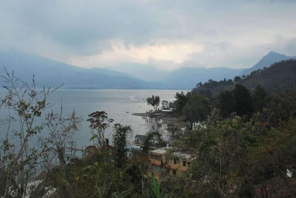 Lake Atitlan overview