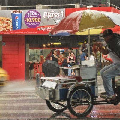 Medellín_Pluie