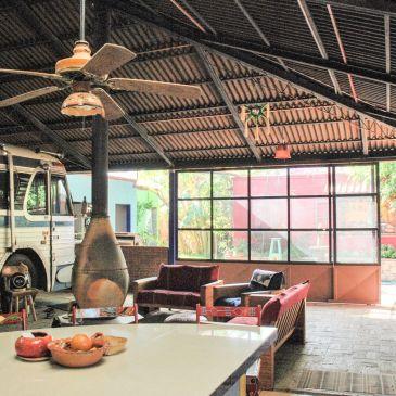 La maison de Calvin et Leanne à Oaxaca: Un habitat peu ordinaire!