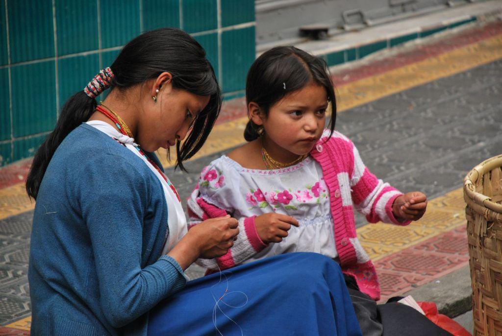 Otavalo_Fillettes