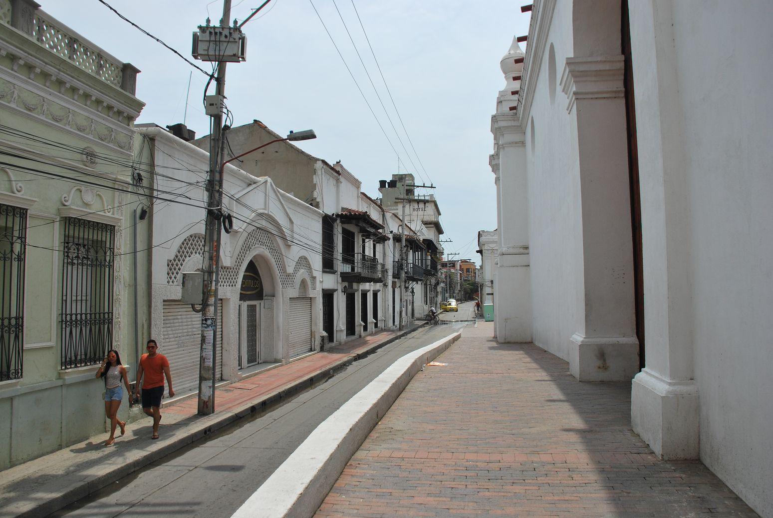 Santa Marta-Colombia Rue