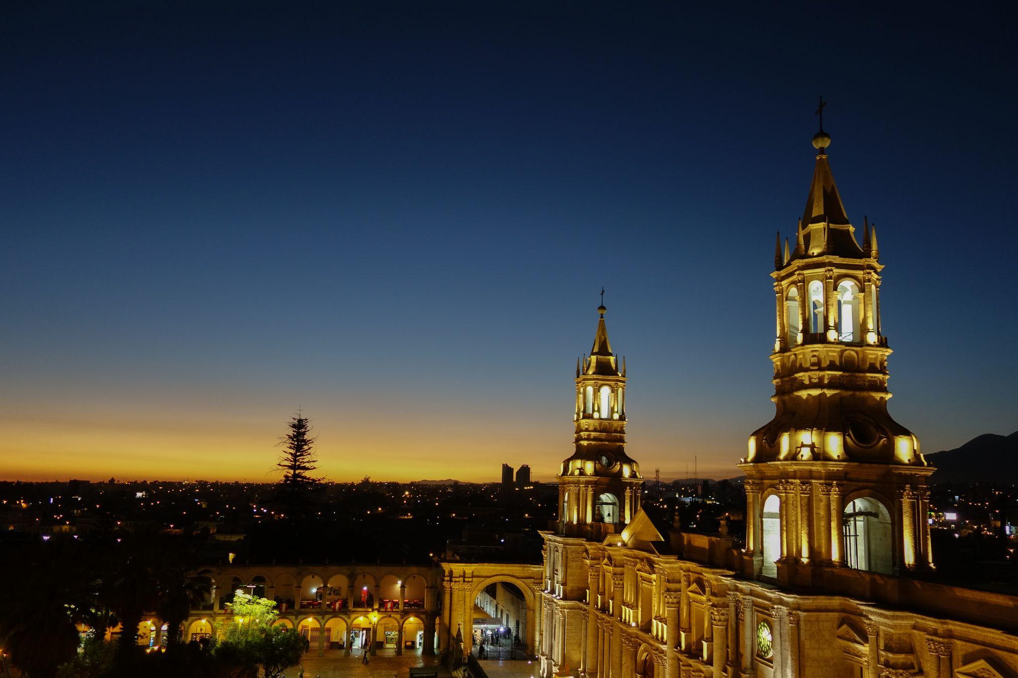 Arequipa_Place_night