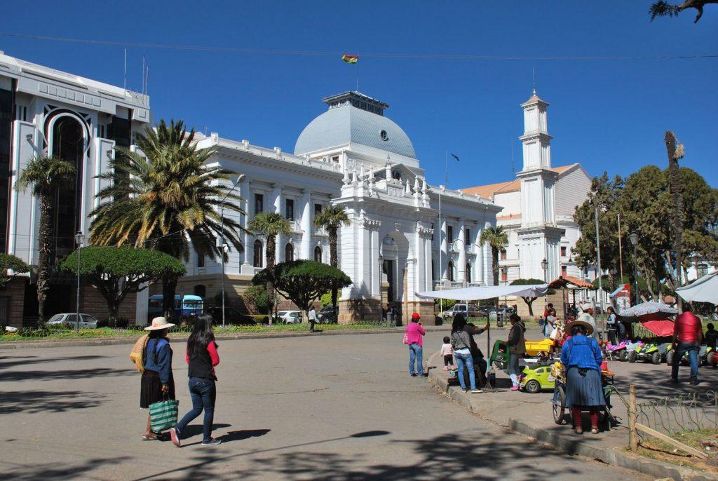 Sucre_Bolivie_Place
