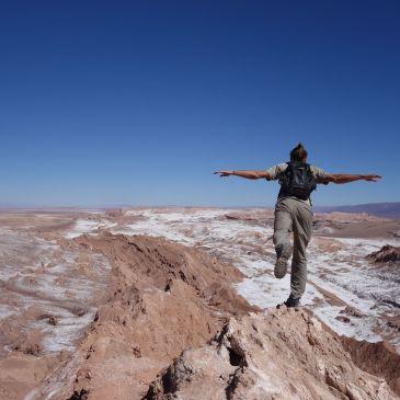 J325 à 332 : Entrée au Nord du Chili dans le désert d'Atacama