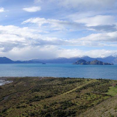 Carretera Austral_lago gnal carrera