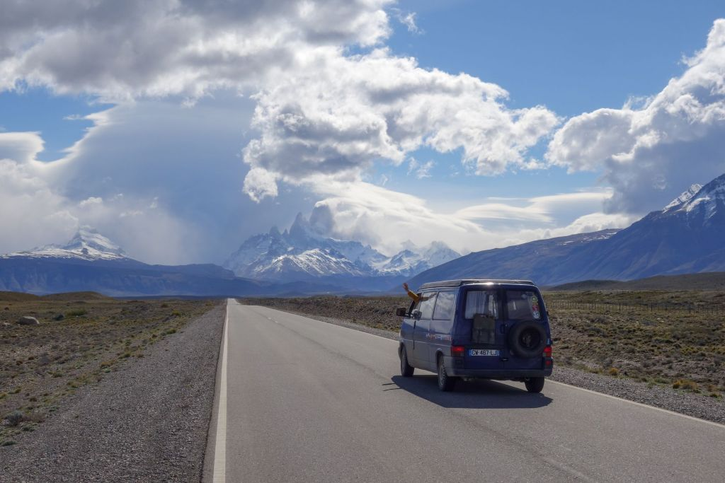 Patagonie_Fitz Roy Road