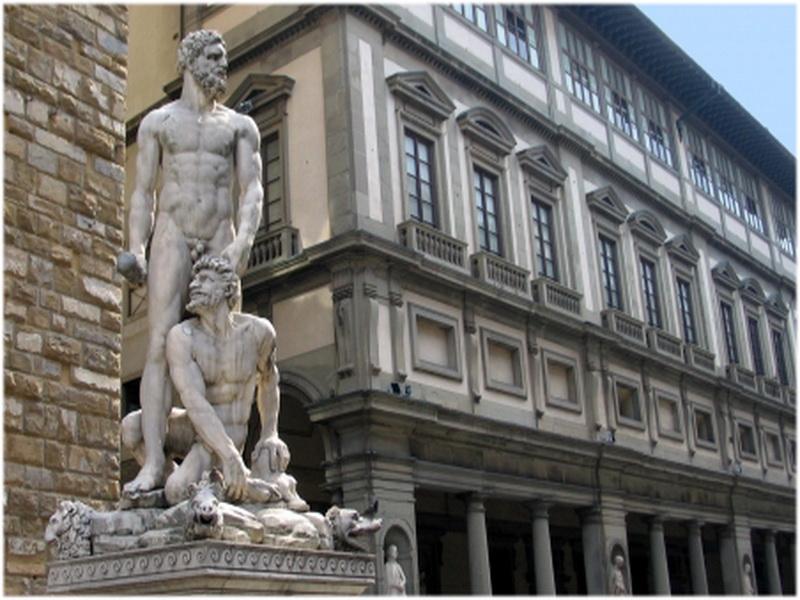 Galerie Des Offices Florence Italie Cap Voyage