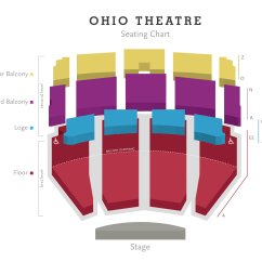 Stage Directions Diagram Person Plot Terms Ohio Theatre Columbus Association For The Performing Arts Parking Area Dining Hotels Venue Website View Seating Chart