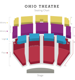 ohio theatre seating chart png [ 2497 x 2253 Pixel ]