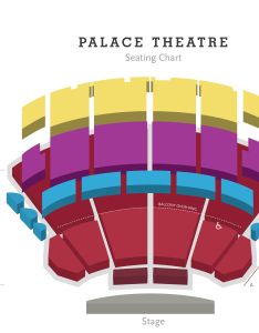Seating chart also palace theatre columbus association for the performing arts rh capa