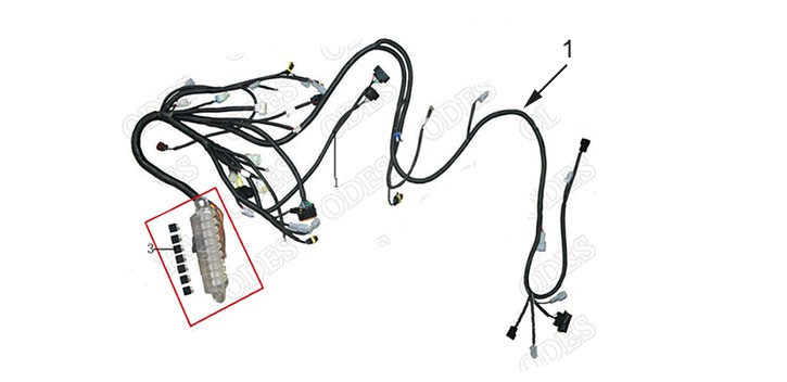 Wire harness Odes 800