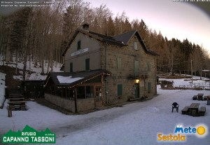 Webcam Capanno Tassoni ore 07