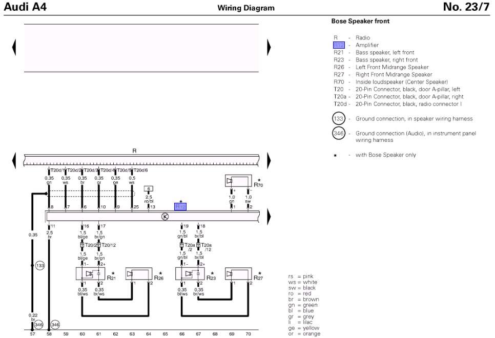 Audi A4 Engine Wiring Diagram : Audi a quattro engine diagram html