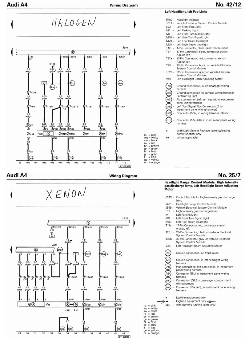 Xenon Headlights Wire Diagram : 29 Wiring Diagram Images