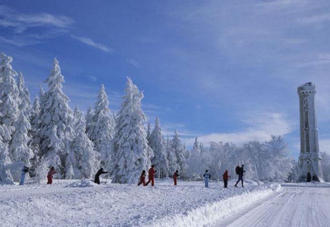 Station de ski Le Champ du Feu  Vosges  BasRhin  Vacances