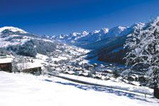 Station de ski Le Grand Bornand  Alpes du Nord  HauteSavoie  Vacances