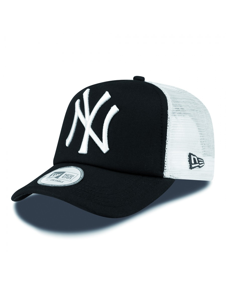 Black And White New York Yankees Snapback Hats