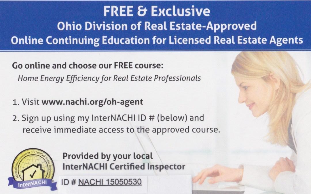 Ohio Realtor Continuing Education.
