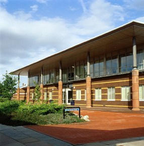 The Edinburgh Business School building, built from the proceeds of the successful distance learning MBA.