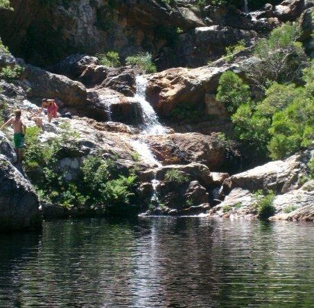 Kogelberg cape hike - Crystal pools waterfall ...