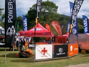 Registration at De Vasselot Rest Camp