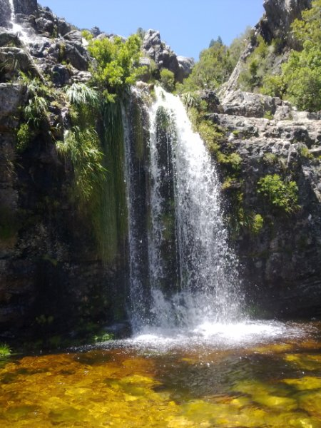 Bobbejaansrivier triple-tier waterfall