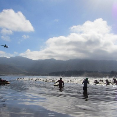 Start of the XTERRA Lite 2012