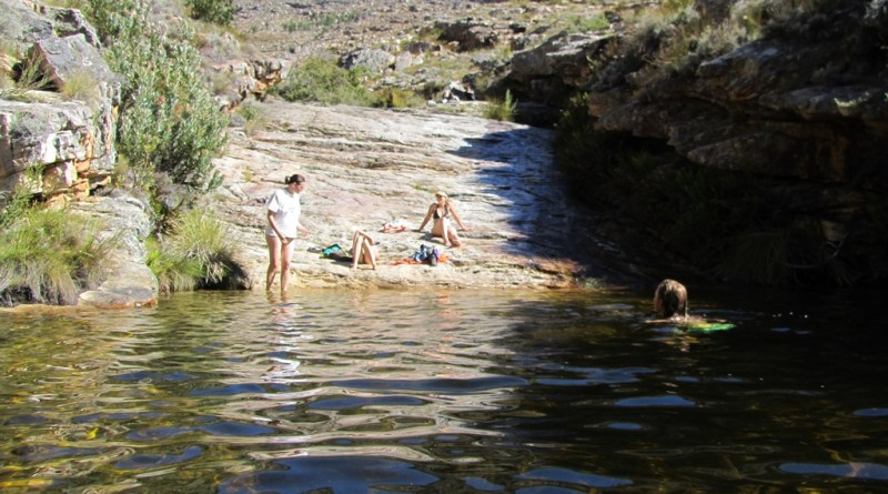 Matroosberg rock pool
